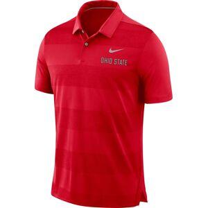 Nike Men's Ohio State Buckeyes Scarlet Early Season Football Polo, Medium - Scarlet - Size: M