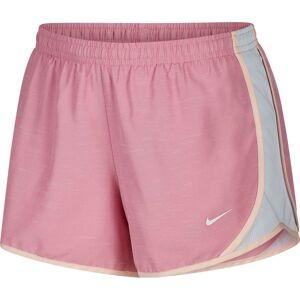 Nike Girls' Dry Heathered Tempo Running Shorts, Large, Magic Flamingo/htr - Magic Flamingo/htr - Size: L