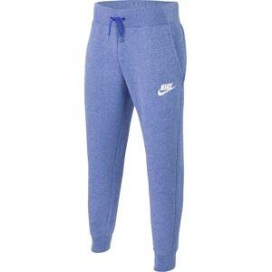 Nike Girls' Sportswear Essentials Pants, Large, Blue - Blue - Size: L