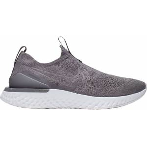 Nike Women's Epic Phantom React Flyknit Running Shoes, Gray - Gray - Size: One Size