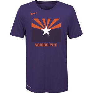 Nike Youth Phoenix Suns Dri-FIT City Edition T-Shirt, Kids, Small, Purple - Purple - Size: S