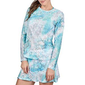 Sofibella Women's Airflow Long Sleeve Shirt, 1X, Multi