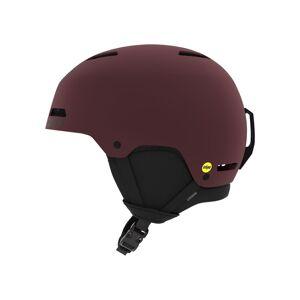 Giro Adult Ledge FS MIPS Snow Helmet, Small, Matte Ox Red