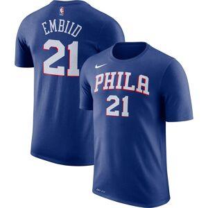 Nike Youth Philadelphia 76ers Joel Embiid #21 Dri-FIT Royal T-Shirt, Kids, Large - Royal - Size: L