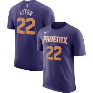 Nike Youth Phoenix Suns DeAndre Ayton #22 Dri-FIT Purple T-Shirt, Kids, Large - Purple - Size: L