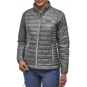 Patagonia Women's Nano Puff Insulated Jacket, Small, Feather Grey