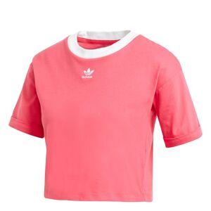 adidas Women's Originals Cropped T-Shirt, Medium, Pink - Pink - Size: M