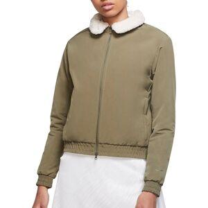 Nike Women's Bomber Golf Jacket, XL, Green