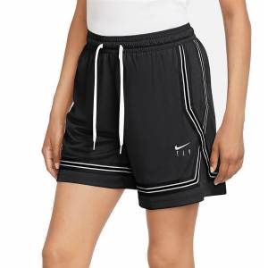 Nike Women's Swoosh Fly Crossover Basketball Shorts, Small, Black