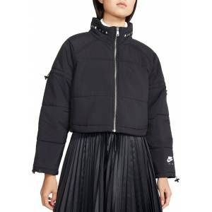 Nike Women's Air Synthetic-Fill Jacket, Large, Black