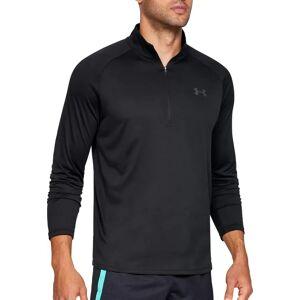 Under Armour Men's Tech ½ Zip Long Sleeve Shirt (Regular and Big & Tall), XXL, Black