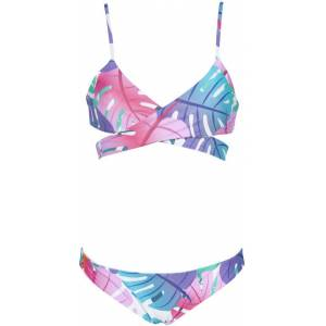 arena Women's Triangle Reversible Two Piece Swimsuit, XXL, Pink