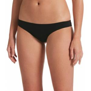 Nike Women's Essential Cheeky Bikini Bottoms, XXL, Black