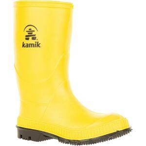 Kamik Kids' Stomp Rain Boots, Yellow