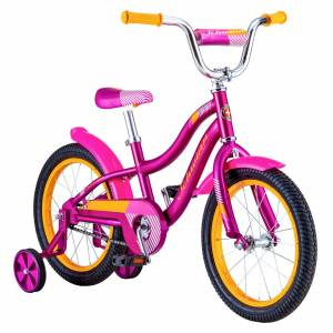 Schwinn Signature Girls' Lil Sunnyside 16'' Bike, 16 IN., Purple