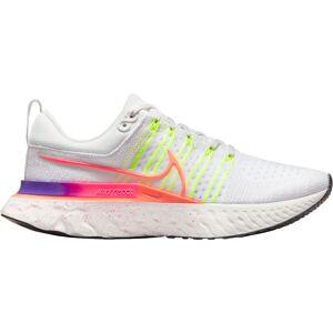 Nike Women's React Infinity Run Flyknit 2 Running Shoes, Volt/White