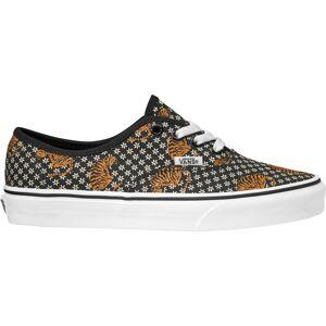 Vans Authentic Tiger Floral Shoes, Women's, Black