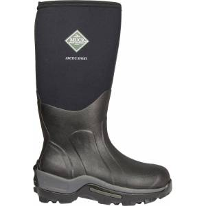 Arctic Muck Boots Men's Arctic Hi Sport Rubber Hunting Boots, Black