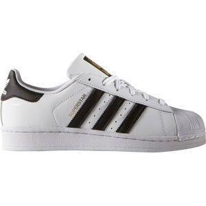 adidas Originals Kids' Grade School Superstar Shoes, Boys', Running White/black - Running White/black - Size: One Size