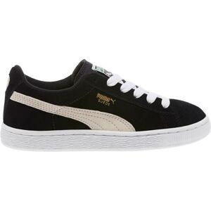 Puma Kids' Grade School Classic Suede Jr Shoes, Boys', Black - Black - Size: One Size