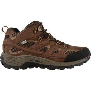 Moab Merrell Kids' Moab 2 Mid Waterproof Hiking Boots, Boys', Brown