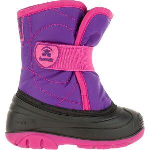 Kamik Toddler Snowbug 3 Insulated Winter Boots, Dark Purple/Magenta