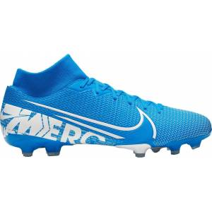 Nike Mercurial Superfly 7 Academy FG Soccer Cleats, Men's, Blue