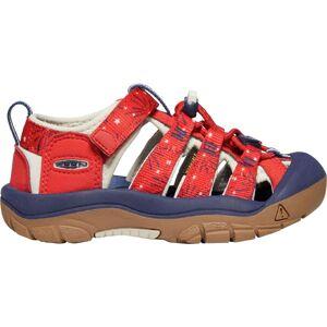 KEEN Kids' Newport H2 Sandals, Fiery Red