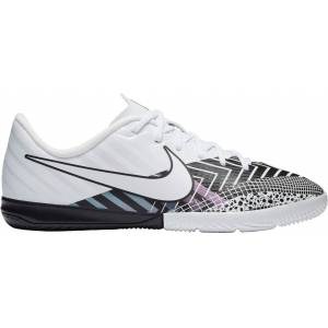 Nike Kids' Mercurial Vapor 13 Academy MDS Indoor Soccer Shoes, White
