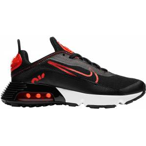 Nike Kids' Grade School Air Max 2090 Shoes, Boys', Black/red - Black/red - Size: One Size