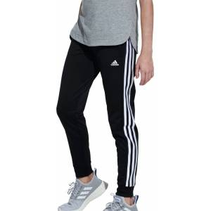 adidas Girls' Tricot Jogger Pants, Small, Black - Black - Size: S