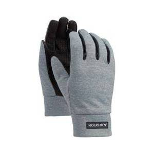 Burton Youth Touch N' Go Liner Gloves, Kids, Large, Gray