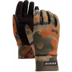 Burton Youth Touch N' Go Liner Gloves, Kids, Large, Green