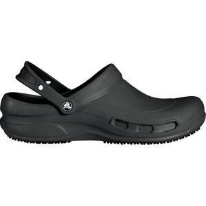 Crocs Adult Bistro Clogs, Women's, M7W9, Black