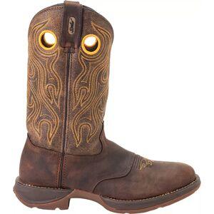 Western Digital Durango Men's Saddle Western Boots, Brown