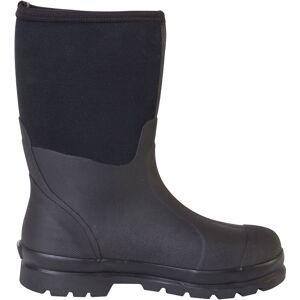 Muck Boots Men's Chore Mid Waterproof Work Boots, Size 7, Black