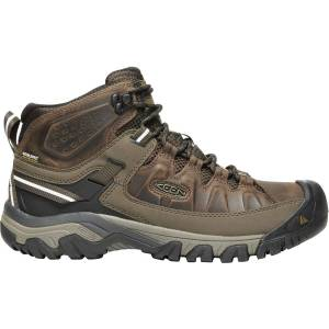 KEEN Men's Targhee III Mid Waterproof Hiking Boots, Brown - Brown - Size: One Size