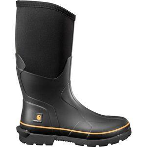 Carhartt Men's 15'' Carbon Nano Toe Rubber Boots, Black