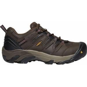 KEEN Men's Lansing Low Work Shoes, Brown - Brown - Size: One Size