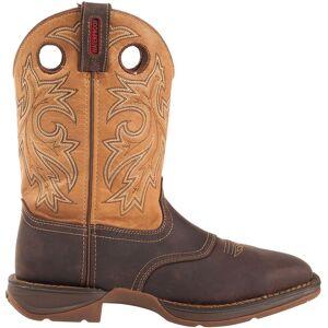"Durango Men's Rebel 11"" Waterproof Steel Toe Western Work Boots, Size: Small, Brown - Brown - Size: s"