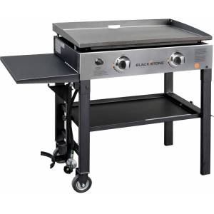 "Blackstone 28"" Griddle Cooking Station, Stainless Steel - Stainless Steel"