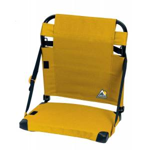 GCI Outdoor Bleacher-Back Stadium Seat, Yellow