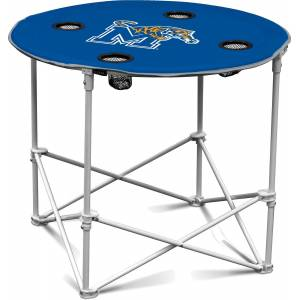 Memphis Tigers Portable Round Table