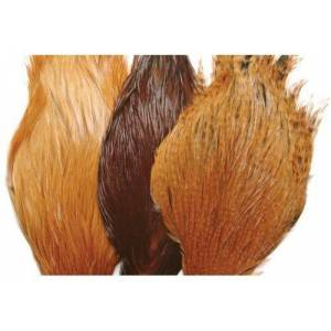 Umpqua Metz #1 Hen Neck Hackle Fly Tying Feathers, Grizzly