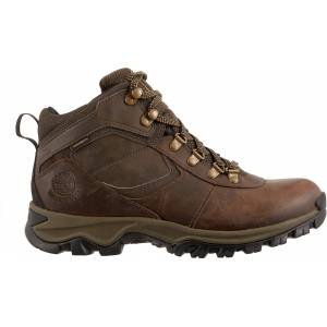 Timberland Men's Mt. Maddsen Mid Waterproof Hiking Boots, Size 8.5, Brown