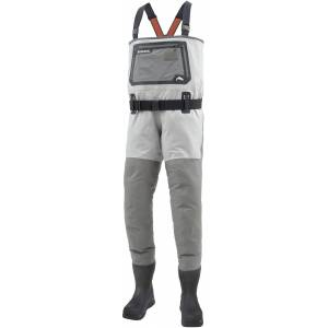 Simms G3 Guide Bootfoot Chest Waders – Vibram Sole, Men's, XL-11, Cinder