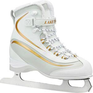 Lake Placid Women's Everest Soft Boot Figure Skates, White