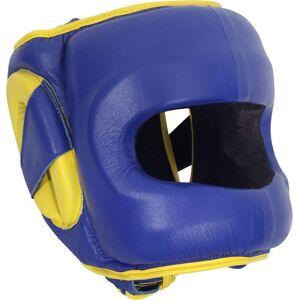 Ringside Combat Deluxe Face Saver Headgear, Small/Medium, Blue