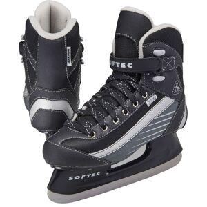 Jackson Ultima Boys' Softec Sport Ice Skates, Black