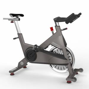 Spinning P1 Spin Bike with DVDs, Gray